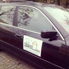 Ergotherapie Troisdorf Autobeschriftung Werbung